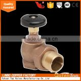 GUTENTOP -LB Brass hot water angle radiator valve
