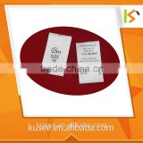 Best Sales Satin Clear Label Labels