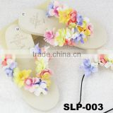 Hawaii Style DIY Flower beach eva Slippers for women
