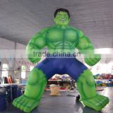 inflatable green man/muscle man