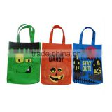 2016 halloween printing pumpkin bags kids candy bag non-woven promotional bag reusable shopping bag gift bag