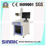 10w 20w fiber marking strainless steel/model/jewelry SINMIC laser engraving cutting marking machines