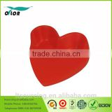 Promotional custom toy balls type heart shape PU stress balls