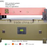 zhicheng 509-40T hydraulic leather shoe cutting making machine