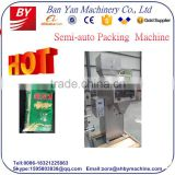 Full Stainless Semi-auto Beans,Legume,Rice,Nuts,Sugar,Salt,Seeds Filling Packing Machine