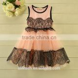 factory selling tutu dress children vest tutu skirt fancy lace kids evening dress 100-140cm 5 size girls skirt