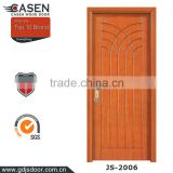 China supplier hot new design wooden door single swing door for home decoration with compeitive price