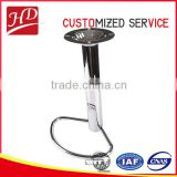 High quality round stainless steel swivel lift bar chair part for bar stools