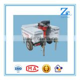Car towed concrete core drilling machines