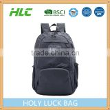 Travelling use waterproof nylon material foldable backpack polyester backpack sports backpack