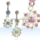 Navel rings, belly body jewelry, belly ring, dangling body jewellery, belly button ring, body piercing jewelry