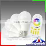 RGB dimmable 2.4G Touch Screen Remote controller wifi bulb led light dimmable led par bulb