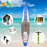Custom LOGO racing inflatable sup stand up paddle surf board