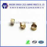 dongguan factory precision brass cnc bike parts