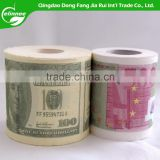 Factory Wholesale Standard Roll 3-ply Money Dollar Printed Toilet Paper                                                                                         Most Popular