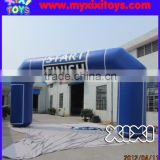 XIXI removable logo Inflatable start/finish arch for sport games
