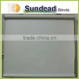 fire retardant fabric Vinyl blackout roller blind