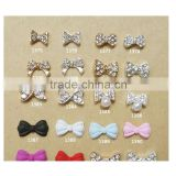3D Nail Art DIY Decoration Sweet Candy Color Bows Pattern Imitation Pearl Nail Rhinestone & Decoration for Manicure Tools