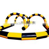 Inflatable go kart race track for sale