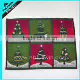 Christmas Tree Table Place Mats With LED Lights Christmas Flashing Placemats                                                                         Quality Choice