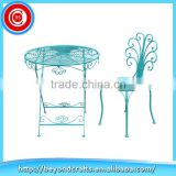Hot selling modern metal dinning table set with chairs