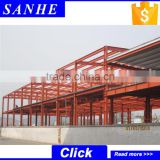 Modern High Strength steel structure two story building