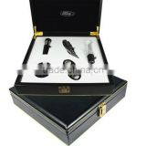 Wine set faux leather Gift box with car brand logo customized (Ford, BMW, BENZ,etc)