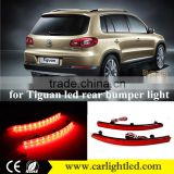 KEEN 12V for 2012-2015 tiguan tail light 6W led tail lamp car rear bumper reflector light for VW tiguan taillight