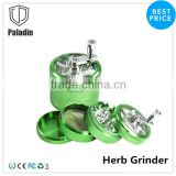 Durable CNC wholesale herb grinder,aluminum 4 pieces metal herb grinders