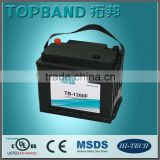 High quality Solar Rechargeable lifepo4 battery 12v 60Ah