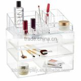 famous cosmetic brand vendors acrylic organizer,makeup organizer acrylic cosmetic shenzhen factory