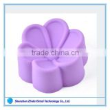 Customized flowers shape silicone cake baking molds wholesale                                                                         Quality Choice