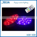 RGB Color Changing Led Light Base Table Center Pieces For Parties And Mariage Decoration