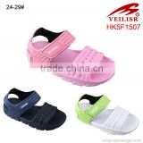 2015 Popular Kids EVA Sandal Shoes, Unisex Fashion Baby School Injection Sandals for Wholesale