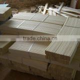 wood curved bed slats