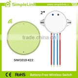 High safety removable battery-free 2 way 220V smart switch