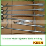 Stainlsteel vegetable manual/hand seed planters, corn hand planter