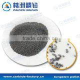 Tungsten crashed particles, tungsten raw material