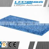 acoustic cement fiber wool blue board insulation for home decoration