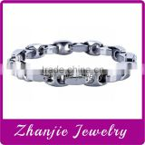 Fashion High Quality Sport Style Tungsten Stainless Steel Hematite 4 In 1 Bio Magnetic Health Chains Bracelet With Clasp