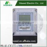 made in china DDSY3666 Single Phase Static Multirate Smart Electronic Meter^^Prepaid electric energy meter with Alarm