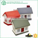 Fine workmanship multicolor pu house stress ball