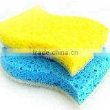 kitchen sponge scouring pad,scrub natural cellulose sponge,cleaning sponge