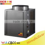 Deron certified high quality air source heat pump high temp. hot water max 80 Degree C, micro portable type