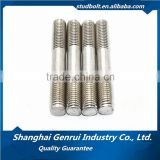 stainless steel Thread Rod Din975/galvanized double end acme threaded rod/trapezoidal threaded rod manufacturers