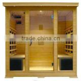 "CE"" ""RoHS"" shortwave heater +Mica carbon heater combination far infrared sauna room"