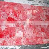 Natural Rose Quartz Slabs , Rose Quartz Stone Slab