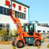 smart and power mini wheel loader TY18 for multi use in farm, garden and construction sites