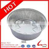"7 4/5"" Diameter 2 1/2"" Depth Disposable Household New Style Deep Round Aluminum Foil Cake Pan"