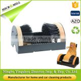 High Efficiency wooden shoe brush footwear boot cleaner, cleaning boot brush